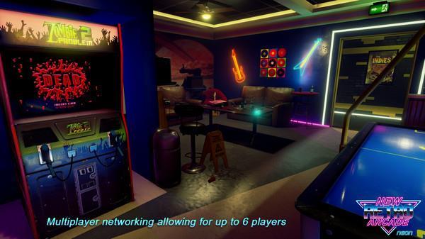 新复古游戏厅VR