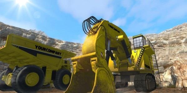 模拟挖掘机