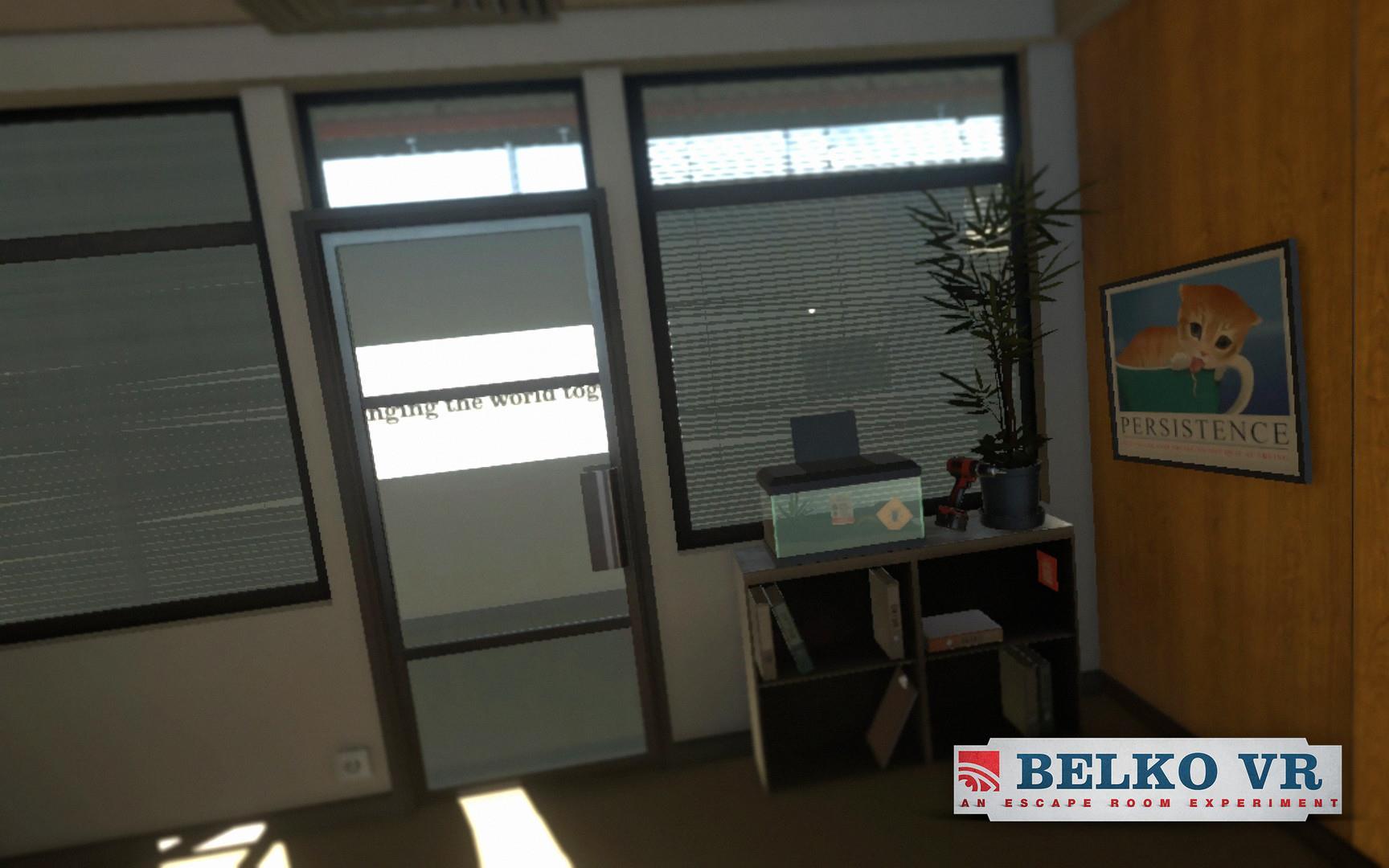 贝尔克VR 逃生实验