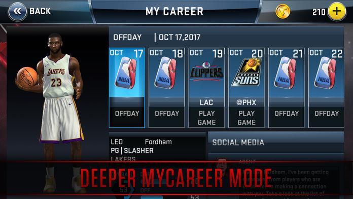 NBA2K18手游