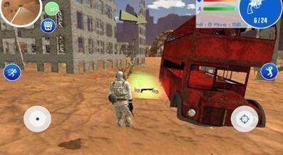 沙漠战场大作战