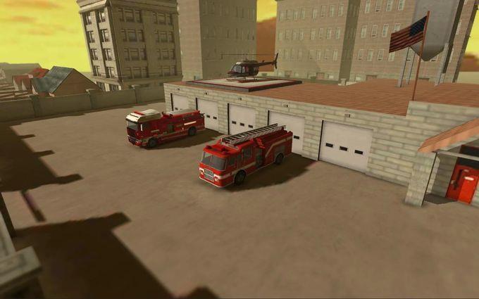 消防员模拟3D